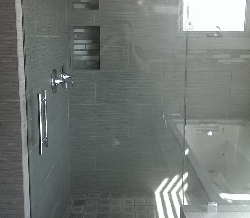 residential shower enclosure
