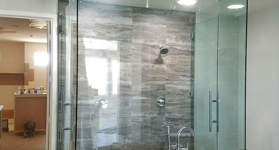custom shower exclosures